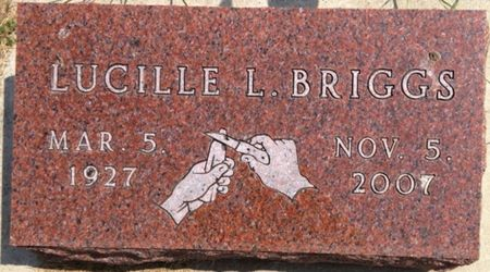 BRIGGS, LUCILLE L. - Cherokee County, Iowa   LUCILLE L. BRIGGS