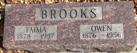 BROOKS, EMMA - Cherokee County, Iowa   EMMA BROOKS