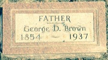 BROWN, GEORGE D. - Cherokee County, Iowa | GEORGE D. BROWN