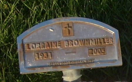 BROWNMILLER, LORRAINE - Cherokee County, Iowa | LORRAINE BROWNMILLER