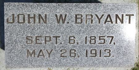 BRYANT, JOHN W. - Cherokee County, Iowa   JOHN W. BRYANT