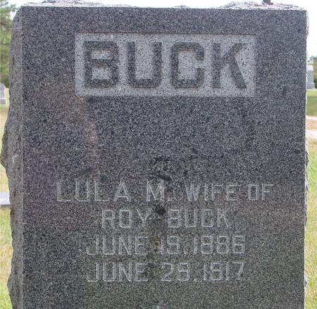 BUCK, LULU M. - Cherokee County, Iowa | LULU M. BUCK