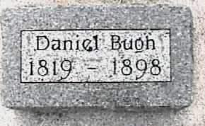 BUGH, DANIEL - Cherokee County, Iowa | DANIEL BUGH