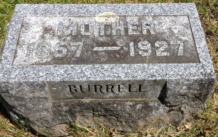 BURRELL, MOTHER (UNKNOWN NAME) - Cherokee County, Iowa | MOTHER (UNKNOWN NAME) BURRELL
