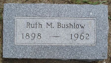 BUSHLOW, RUTH M. - Cherokee County, Iowa   RUTH M. BUSHLOW
