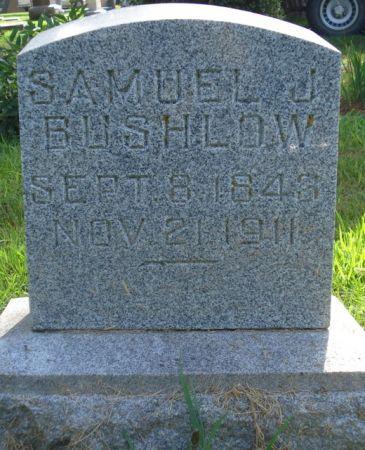 BUSHLOW, SAMUEL J. - Cherokee County, Iowa   SAMUEL J. BUSHLOW