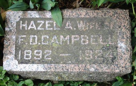 CAMPBELL, HAZEL - Cherokee County, Iowa | HAZEL CAMPBELL