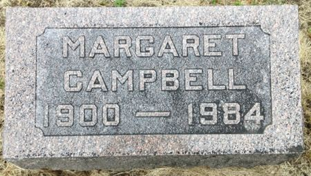 CAMPBELL, MARGARET - Cherokee County, Iowa | MARGARET CAMPBELL