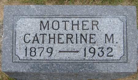 CAREY, CATHERINE M. - Cherokee County, Iowa   CATHERINE M. CAREY