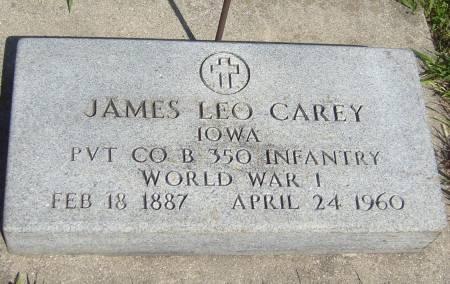 CAREY, JAMES LEO - Cherokee County, Iowa | JAMES LEO CAREY