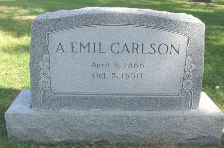 CARLSON, A. EMIL - Cherokee County, Iowa   A. EMIL CARLSON