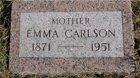 CARLSON, EMMA - Cherokee County, Iowa   EMMA CARLSON