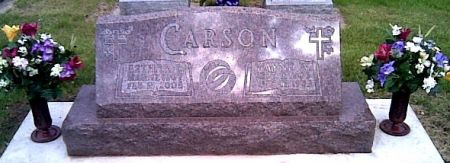 CARSON, ESTHER - Cherokee County, Iowa   ESTHER CARSON