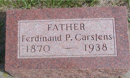CARSTENS, FERDINAND P. - Cherokee County, Iowa | FERDINAND P. CARSTENS