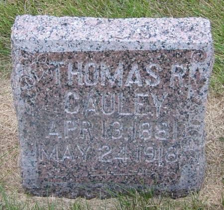 CAULEY, THOMAS R. - Cherokee County, Iowa   THOMAS R. CAULEY