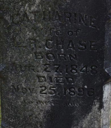 DAVIS CHASE, CATHERINE - Cherokee County, Iowa   CATHERINE DAVIS CHASE