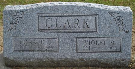 CLARK, VIOLET M. - Cherokee County, Iowa | VIOLET M. CLARK