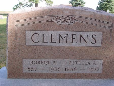 CLEMENS, ROBERT & ESTELLA - Cherokee County, Iowa | ROBERT & ESTELLA CLEMENS