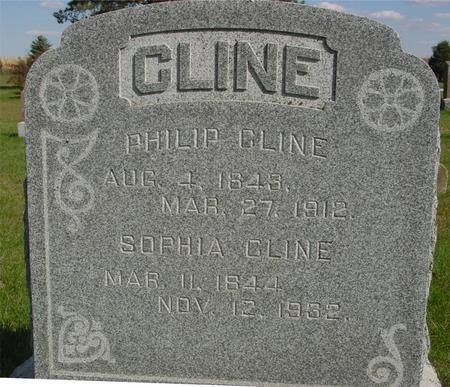 CLINE, PHILIP & SOPHIA - Cherokee County, Iowa | PHILIP & SOPHIA CLINE