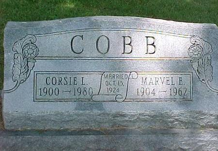 COBB, CORSIE L. - Cherokee County, Iowa | CORSIE L. COBB