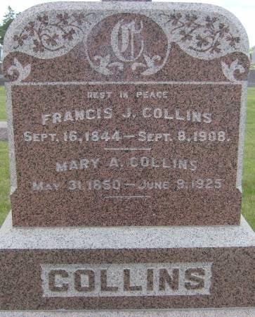 COLLINS, FRANCIS J. - Cherokee County, Iowa | FRANCIS J. COLLINS
