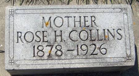 COLLINS, ROSE H. - Cherokee County, Iowa | ROSE H. COLLINS