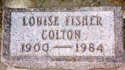 COLTON, LOUISE - Cherokee County, Iowa | LOUISE COLTON