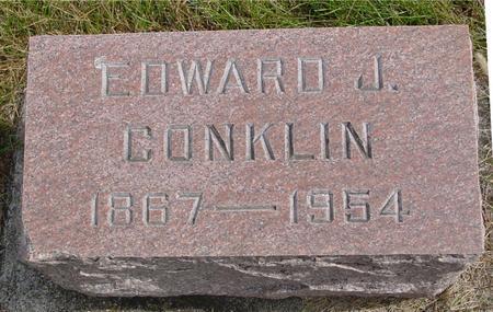 CONKLIN, EDWARD J. - Cherokee County, Iowa | EDWARD J. CONKLIN