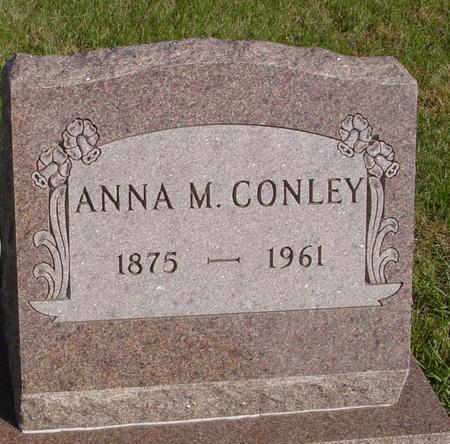 CONLEY, ANNA M. - Cherokee County, Iowa | ANNA M. CONLEY