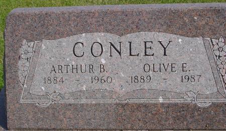 CONLEY, ARTHUR & OLIVE - Cherokee County, Iowa | ARTHUR & OLIVE CONLEY