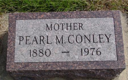 CONLEY, PEARL M. - Cherokee County, Iowa | PEARL M. CONLEY