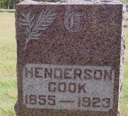 COOK, HENDERSON - Cherokee County, Iowa | HENDERSON COOK