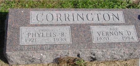 CORRINGTON, VERNON & PHYLLIS - Cherokee County, Iowa | VERNON & PHYLLIS CORRINGTON