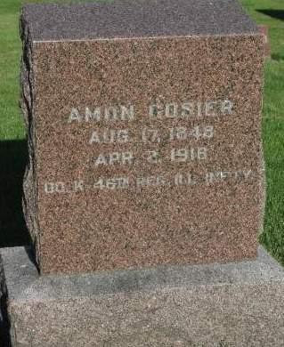 COSIER, AMON - Cherokee County, Iowa | AMON COSIER