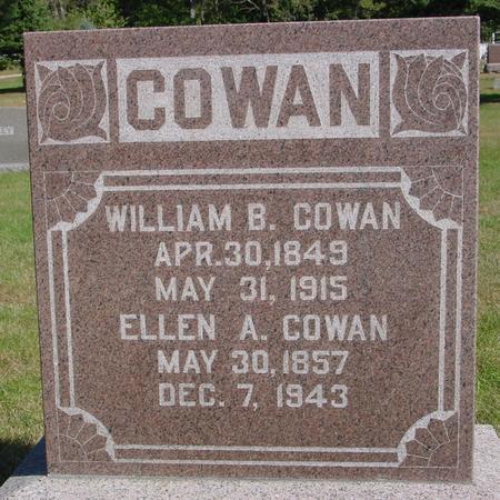 COWAN, WILLIAM & ELLEN - Cherokee County, Iowa   WILLIAM & ELLEN COWAN