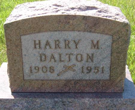 DALTON, HARRY M. - Cherokee County, Iowa | HARRY M. DALTON