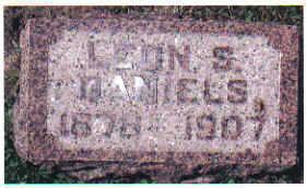 DANIELS, LEON S. - Cherokee County, Iowa | LEON S. DANIELS