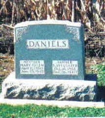 SAGE DANIELS, MARY ELLEN - Cherokee County, Iowa   MARY ELLEN SAGE DANIELS