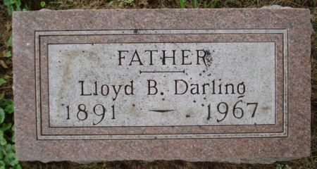 DARLING, LLOYD B. - Cherokee County, Iowa   LLOYD B. DARLING