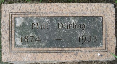 DARLING, MILT - Cherokee County, Iowa   MILT DARLING