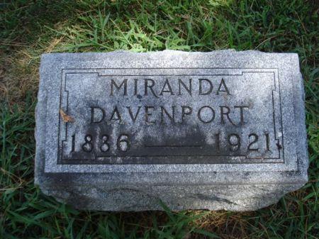 DAVENPORT, MIRANDA - Cherokee County, Iowa | MIRANDA DAVENPORT