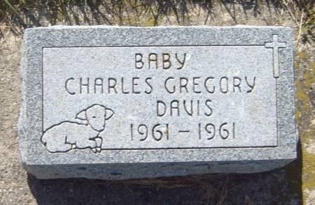 DAVIS, CHARLES GREGORY - Cherokee County, Iowa   CHARLES GREGORY DAVIS