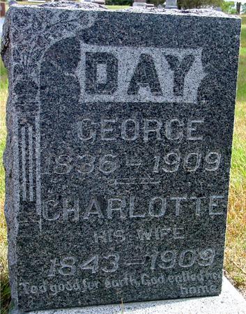 DAY, GEORGE & CHARLOTTE - Cherokee County, Iowa | GEORGE & CHARLOTTE DAY