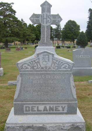 DELANEY, BRIDGET - Cherokee County, Iowa   BRIDGET DELANEY