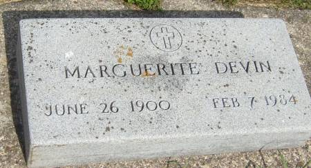 DEVIN, MARGUERITE - Cherokee County, Iowa | MARGUERITE DEVIN