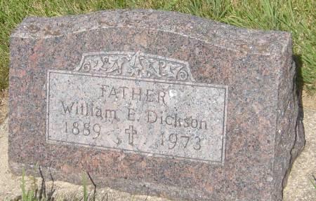 DICKSON, WILLIAM E. - Cherokee County, Iowa   WILLIAM E. DICKSON