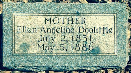 DOOLITTLE, ELLEN ANGELINE - Cherokee County, Iowa | ELLEN ANGELINE DOOLITTLE
