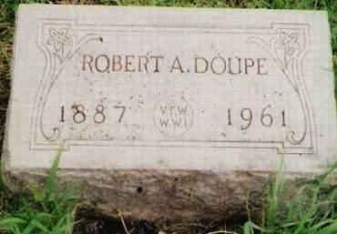 DOUPE, ROBERT A. - Cherokee County, Iowa   ROBERT A. DOUPE