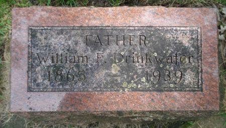 DRINKWATER, WILLIAM F. - Cherokee County, Iowa | WILLIAM F. DRINKWATER