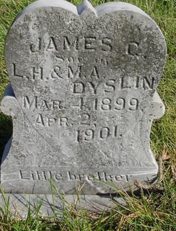 DYSLIN, JAMES D. - Cherokee County, Iowa | JAMES D. DYSLIN